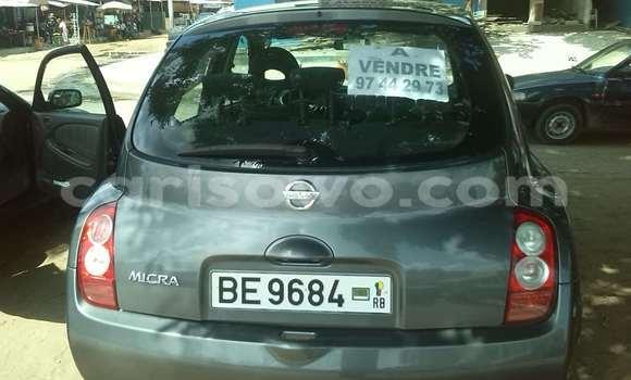 Acheter Occasions Voiture Nissan Micra Noir à Cotonou au Benin