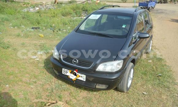 Acheter Occasion Voiture Opel Zafira Noir à Cotonou, Benin