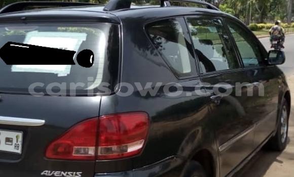 Acheter Occasion Voiture Toyota Avensis Verso Noir à Cotonou, Benin
