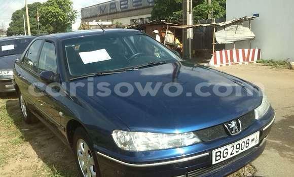 Acheter Occasion Voiture Peugeot 406 Bleu à Cotonou, Benin