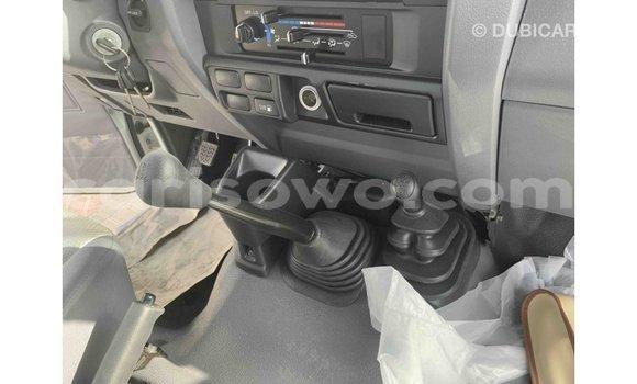Sayi Imported Toyota Land Cruiser White Mota in Import - Dubai a Benin