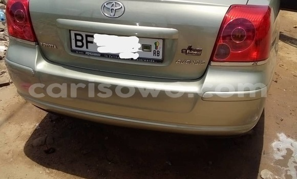 Buy Used Toyota Avensis Silver Car in Cotonou in Benign