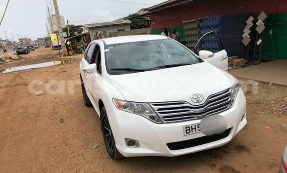 Acheter Occasion Voiture Toyota Venza Blanc à Cotonou, Benin