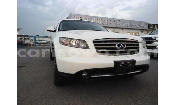 Acheter Importé Voiture Infiniti FX Blanc à Import - Dubai, Benin