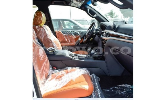 Acheter Importé Voiture Lexus LX Blanc à Import - Dubai, Benin