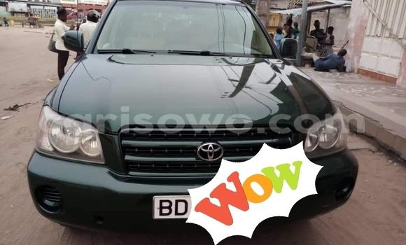 Acheter Occasion Voiture Toyota Highlander Vert à Cotonou, Benin