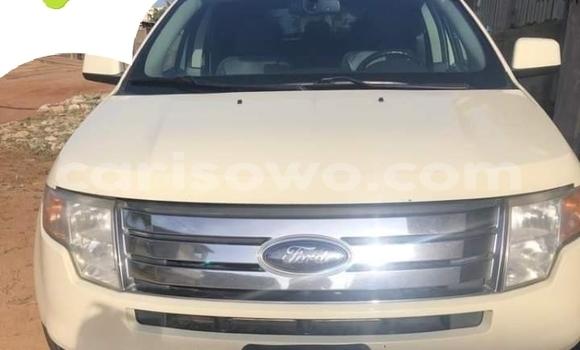 Acheter Occasion Voiture Ford Edge Blanc à Cotonou, Benin