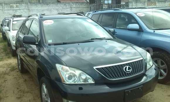 Acheter Occasion Voiture Lexus RX 350 Noir à Porto Novo, Benin