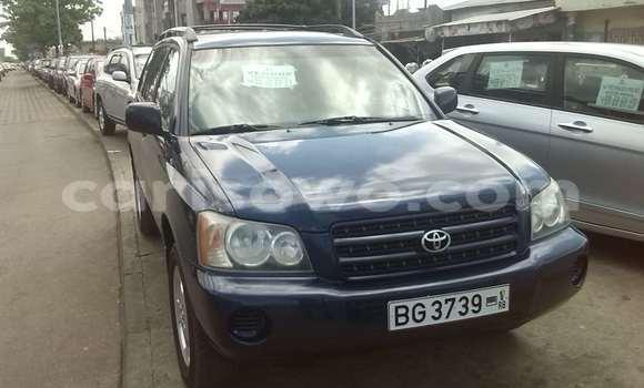 Acheter Occasion Voiture Toyota Highlander Bleu à Cotonou, Benin