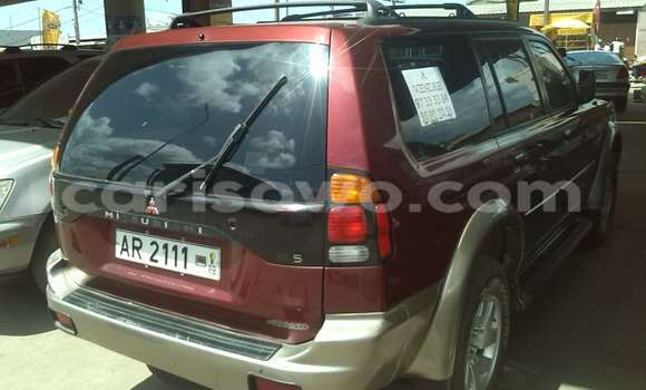 Acheter Occasion Voiture Mitsubishi Montero Noir à Cotonou au Benin