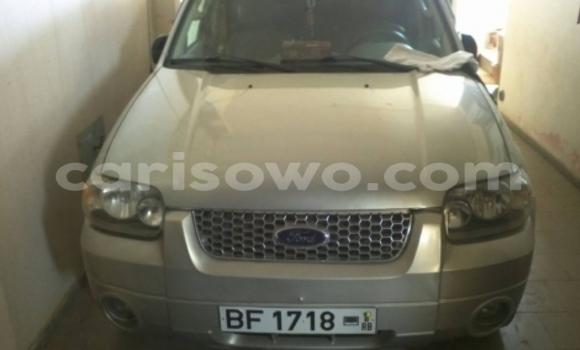 Acheter Occasion Voiture Ford Escape Noir à Cotonou au Benin
