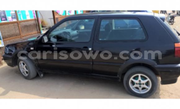 Acheter Occasion Voiture Volkswagen Golf Noir à Cotonou, Benin