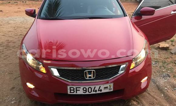 Acheter Occasions Voiture Honda Accord Rouge à Cotonou au Benin