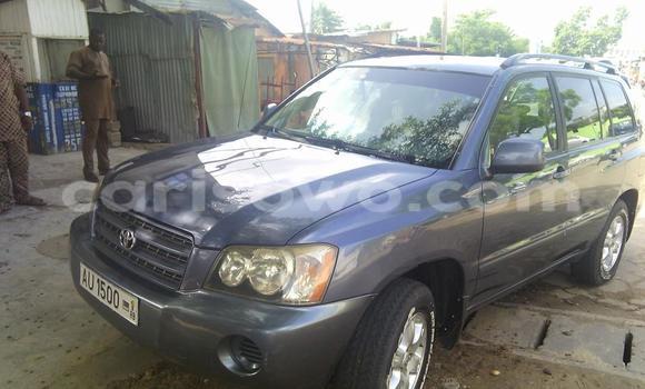 Acheter Occasions Voiture Toyota Highlander Noir à Cotonou au Benin