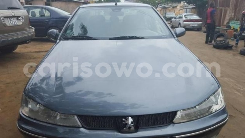 Big with watermark peugeot 406 grise annee 2001 0
