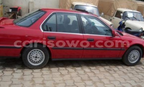 Acheter Occasion Voiture Honda Accord Rouge à Cotonou, Benin