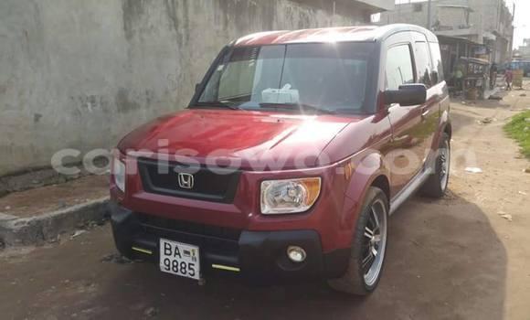 Acheter Occasion Voiture Honda Pilot Rouge à Cotonou au Benin
