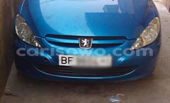 Acheter Occasion Voiture Peugeot 307 Bleu à Cotonou au Benin