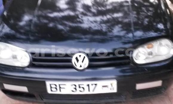 Acheter Occasion Voiture Volkswagen Golf Noir à Cotonou au Benin
