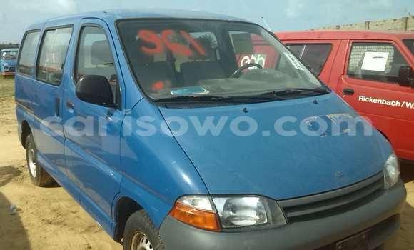 Acheter Occasion Voiture Toyota Hilux Bleu à Porto Novo au Benin