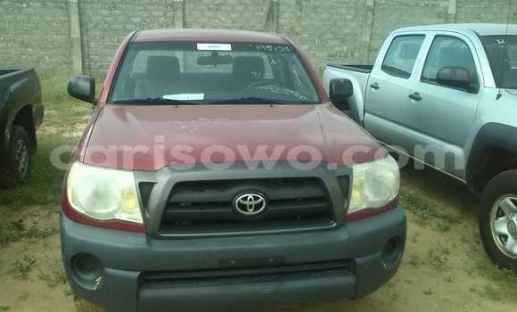 Acheter Occasion Voiture Toyota Tacoma Noir à Porto Novo au Benin
