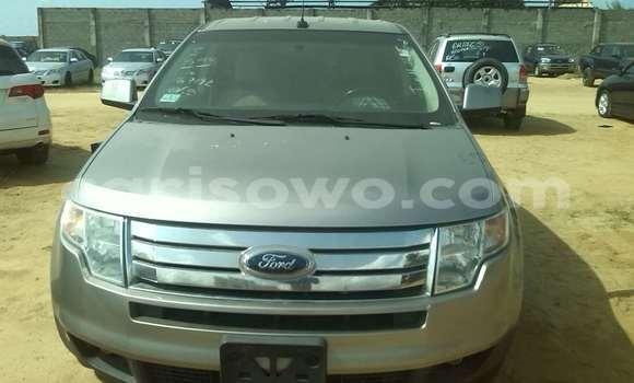 Acheter Occasions Voiture Ford Edge Gris à Porto Novo au Benin