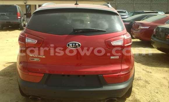 Acheter Occasion Voiture Kia Sportage Rouge à Porto Novo au Benin