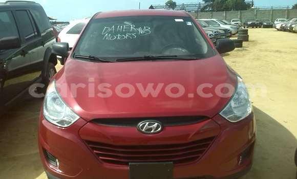 Acheter Occasions Voiture Hyundai Tucson Rouge à Porto Novo au Benin