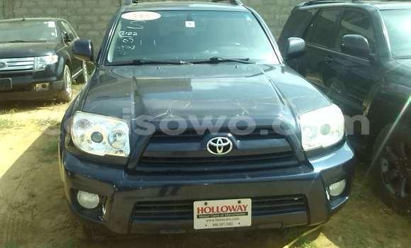 Acheter Occasion Voiture Toyota 4Runner Bleu à Porto Novo, Benin