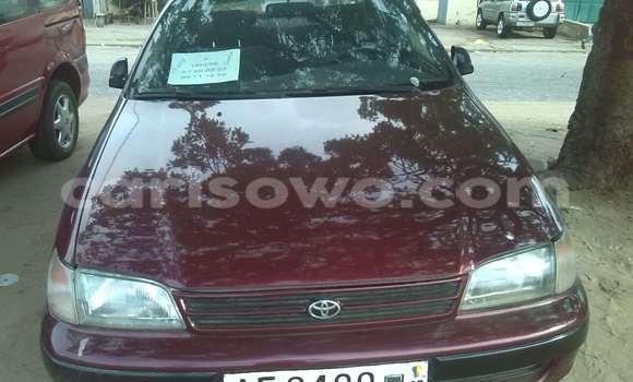 Acheter Occasion Voiture Toyota Carina Rouge à Cotonou au Benin
