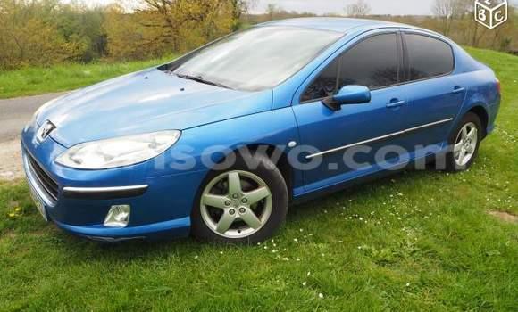 Acheter Occasions Voiture Peugeot 407 Bleu à Cotonou au Benin