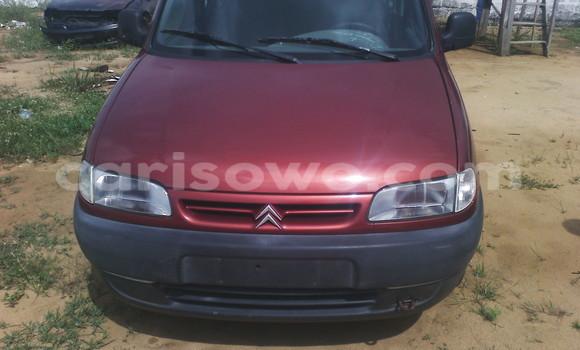 Acheter Occasion Voiture Citroen C15 Rouge à Porto Novo au Benin