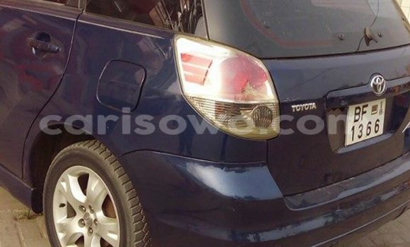 Acheter Occasion Voiture Toyota Matrix Bleu à Cotonou, Benin