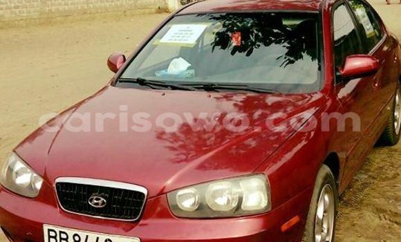 Acheter Occasion Voiture Hyundai Accent Rouge à Cotonou, Benin