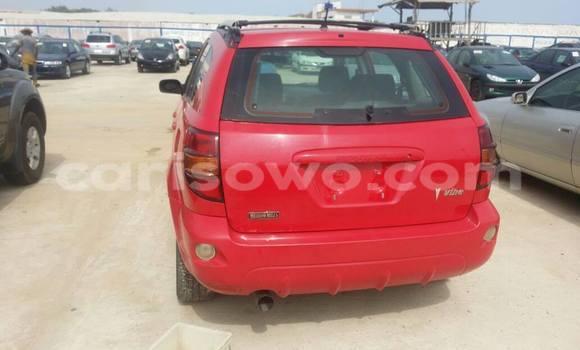 Acheter Occasion Voiture Pontiac Vibe Rouge à Cotonou au Benin