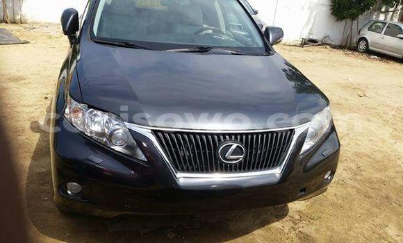 Acheter Occasion Voiture Lexus RX 350 Noir à Savalou au Benin