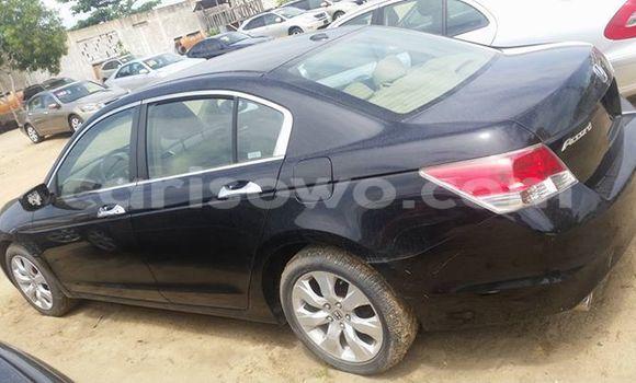 Acheter Occasions Voiture Honda Accord Noir à Cotonou au Benin