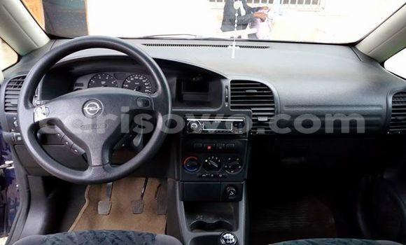 Acheter Occasion Voiture Opel Zafira Noir à Savalou au Benin