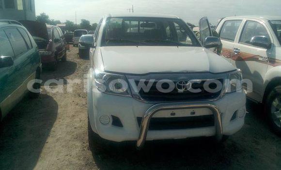 Acheter Occasion Voiture Toyota Hilux Blanc à Cotonou au Benin