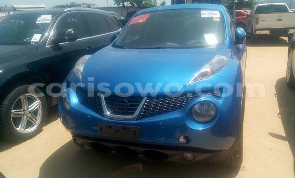 Acheter Occasion Voiture Nissan Juke Bleu à Cotonou au Benin