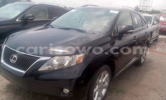 Acheter Occasion Voiture Lexus RX 350 Noir à Cotonou au Benin