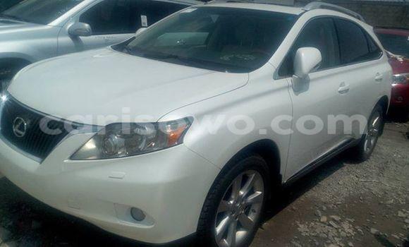 Acheter Occasion Voiture Lexus RX 350 Blanc à Cotonou, Benin