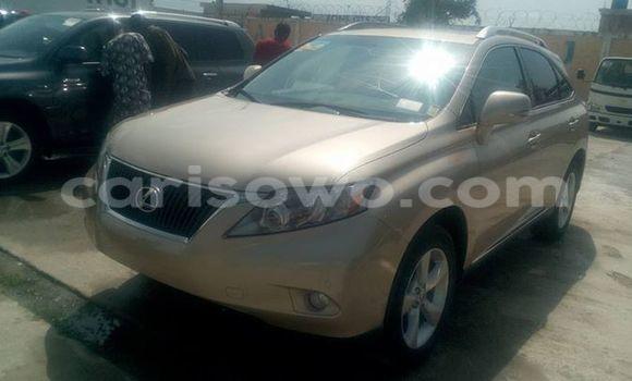 Acheter Occasions Voiture Lexus RX 350 Marron à Cotonou au Benin