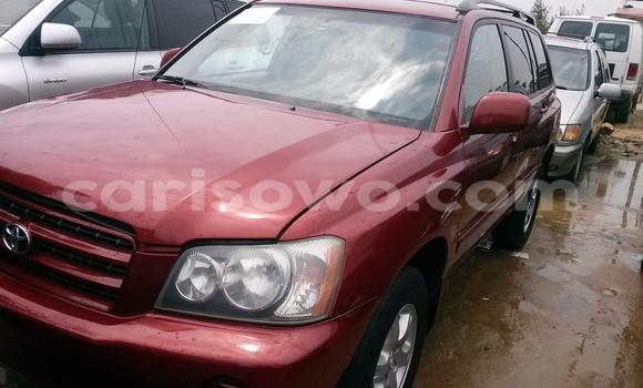 Acheter Occasion Voiture Toyota Highlander Rouge à Cotonou, Benin