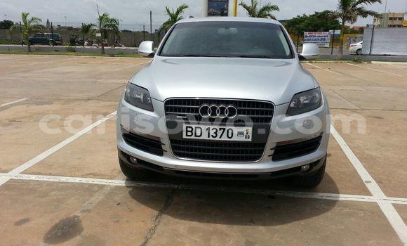 Acheter Occasion Voiture Audi Q7 Gris à Cotonou au Benin