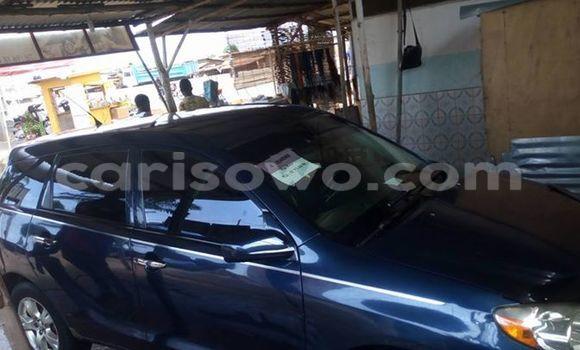 Acheter Occasion Voiture Toyota Matrix Noir à Savalou, Benin