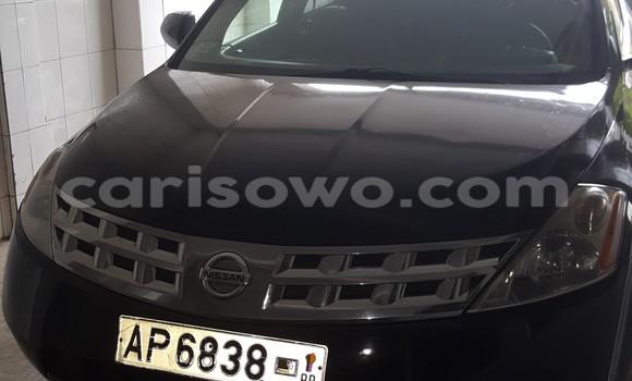 Acheter Occasions Voiture Nissan Murano Noir à Cotonou au Benin