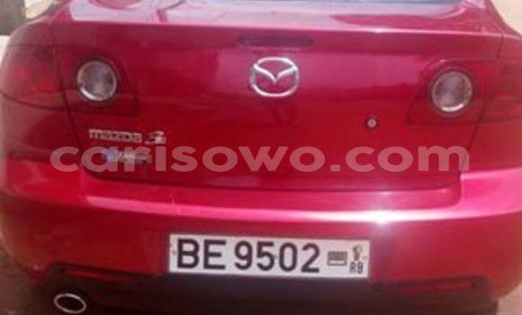Acheter Occasions Voiture Mazda 6 Rouge à Cotonou au Benin