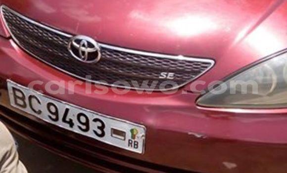 Acheter Occasion Voiture Toyota Camry Rouge à Cotonou, Benin