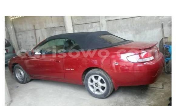 Acheter Occasion Voiture Toyota Solara Rouge à Abomey Calavi, Benin